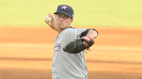 Jake Odorizzi led the Royals' system with 157 strikeouts last year.