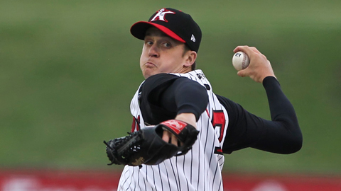 Jake Petricka went 7-8 with a 3.65 ERA across three levels in 2011.