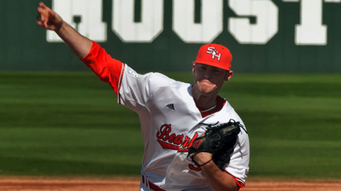 Justin Jackson went 9-4 with a 2.69 ERA as a collegian in 2012.